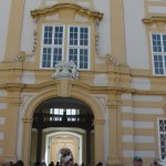 entrance to Melk Abbey