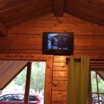 TV and TV service in the cabin