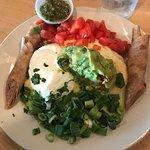 Eggs Veracruz-so good!