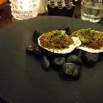 scallops with parmesan crumb