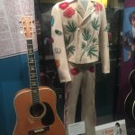 Graham Parson's Nudie suit (Byrds and Flying Burrito Brothers)