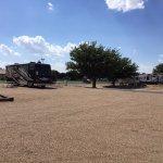 Amarillo Ranch RV Parking Lot Sites