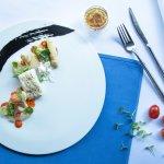 Chef Roxanne's creation for White Asparagus Season