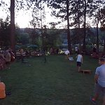 Saturday night live music on the lawn