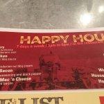 Happy Hour - 7 days per week