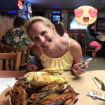 Previous visit, me and my girlfriend. These were the crabs that were not that good.