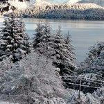 Después de una nevada intensa. así quedó el paisaje ... HERMOSO, ES POCO...