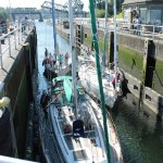 boats in the locks