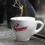 Nice hot Genovese coffee