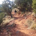 The easy trail