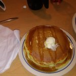 The pancakes were light and fluffy