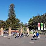 Weg vom Opernhaus zum Botanischen Garten Foto
