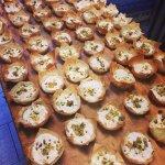 Goat cheese tartlets (seasonal)