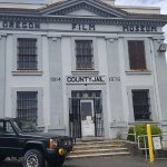 The Jail/Museum and jeep from the Goonies movie