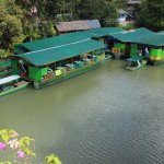 The Floating Restaurant at the dock