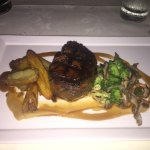 The Beef Tenderloin was so tender and melted in my mouth