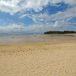 Beautiful and peaceful Beach - semi low tide