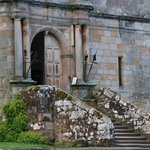 Entrance at Chillingham Castle