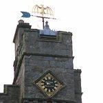 Coat of Arms golden Bat at Chillingham