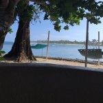 "Each beach side bungalow has a hammock outside & a ""banana lounge"""