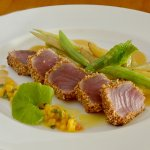 Crusted Sesame Seeds Sri Lankan Yellowfin Tuna Fillet