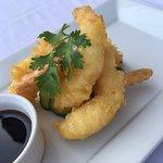 Aroma Restaurant and Cafe Bahrain Tempura Prawns