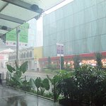 A rainy day on Orchard Road