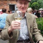 Dad celebrating his 91st Birthday at the Queens Head Burley ..