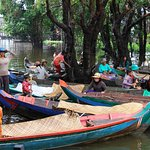 A glimpse of local's lives on the water @ Kompong Phluk villages - Siem Reap, CAMBODIA