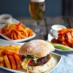 Burger, Wings & Squid
