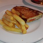 Toasted cheese and tomato ..... Yum