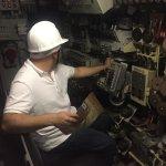 Posto di comando del sottomarino