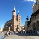 Krakow main square.