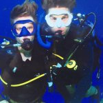 Final qualifying dive of their PADI Open Water