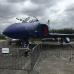 The RN F4 Phantom in the car park