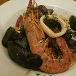 linguini al frutti di mare