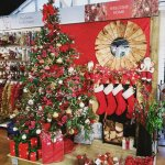 Christmas display at Stewarts Christchurch Garden Centre