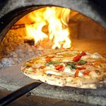 We make all our pizza in italian brickoven