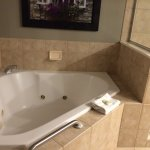 Jacuzzi in main bathroom