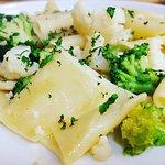 Paccheri con broccoli e cavolfiori