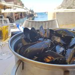 Mussels with a view