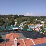 Waterpark - view from balcony