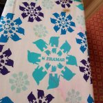 stained ironing board