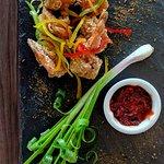 Golden Fried Prawns. Fresh prawns, crisp tempura batter