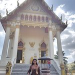 Bagian depan kuil Wat Chetawan