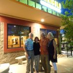 Our four (4) Birthday Buddies in front of the restaurant -