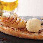 Pizza dessert : le Crousti poire