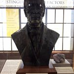 Founder of Smithsonian Museums - Bust Statue
