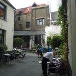 Courtyard at De Halve Maan