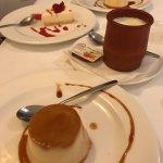 Home made desserts (flan, cheesecake and cuajada)